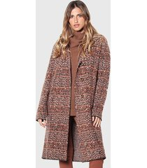 abrigo wados naranjo - calce holgado
