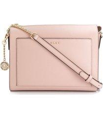 dkny bolsa tiracolo bryant - rosa
