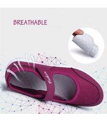 sneakers in mesh con velcro