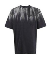 feng chen wang camiseta com estampa abstrata - cinza