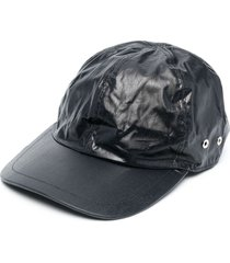 1017 alyx 9sm satin trim baseball cap - black