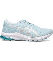 gt-1000 10 shoes sport shoes running shoes blå asics