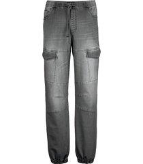 broek men plus grey