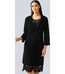 mantel alba moda zwart