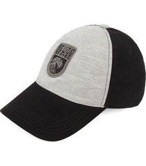 gorra negro-gris colore