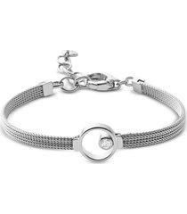 skagen designer bracelets, elin silver tone crystal women's bracelet