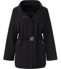 jas in oversized-model wijde mouwen van looxent zwart