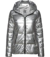 hooded polyfilled jacket fodrad jacka silver champion