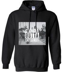 straight outta easy street t-shirt hoodie