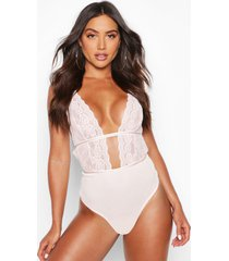 star strapping plunge body, blush