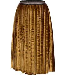 kitlyn skirt lång kjol brun unmade copenhagen