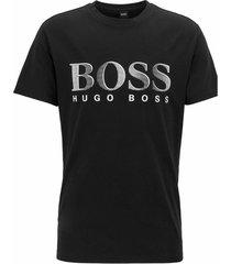 hugo boss t-shirt logo bedrukking - zwart