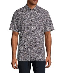 foliage short-sleeve shirt