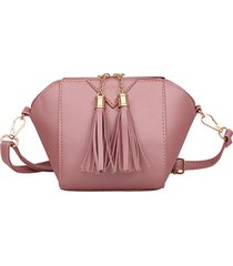 mini telefono nappa borsa shell solid leisure crossbody borsa
