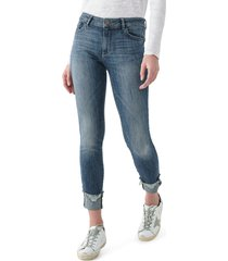 dl1961 instasculpt florence ripped ankle skinny jeans, size 24 in moore at nordstrom