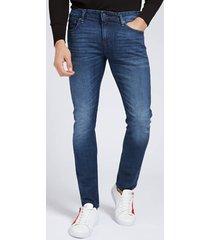 denimowe spodnie fason super-skinny