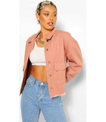 utility jas van keperstof, blush