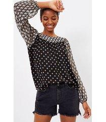 loft billow sleeve blouse