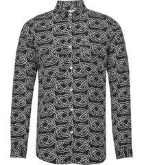 sid r skjorta casual multi/mönstrad tiger of sweden jeans