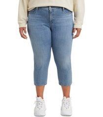 levi's trendy plus size 311 shaping skinny capri jeans