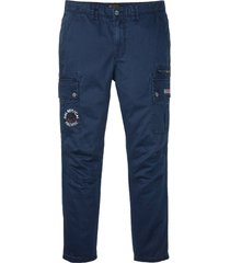 pantaloni cargo loose fit (blu) - bpc selection