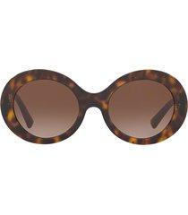 valentino valentino va4058 havana sunglasses