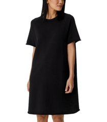 eileen fisher organic cotton knit dress