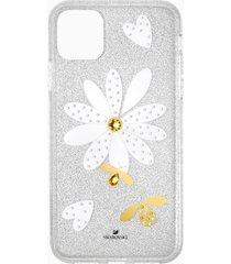 custodia per smartphone con bordi protettivi eternal flower, iphoneâ® 11 pro max, multicolore chiaro