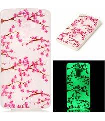 luminous tpu phone case for lenovo vibe k4 note/vibe x3 lite - blossom
