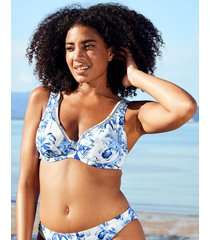 toulouse mindful underwire plunge high apex ladder bikini top d-gg