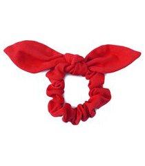 elástico de cabelo isabelle - vermelho