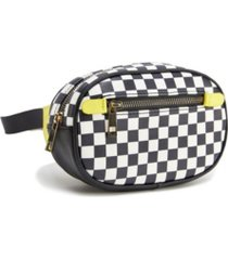 like dreams checkered capsule fanny pack