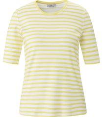 shirt in set 2 100% katoen ronde hals van peter hahn wit