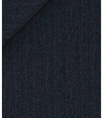 pantaloni da uomo su misura, vitale barberis canonico, grigio moderno spigato, quattro stagioni   lanieri