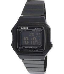 reloj casio retro b-650wb-1b digital unisex pavonado original
