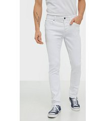 only & sons onsloom slim white pk 6127 jeans vit