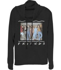 fifth sun friends stair group portrait cowl neck juniors pullover fleece