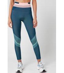 lndr women's solar leggings - sailor blue - xs/s
