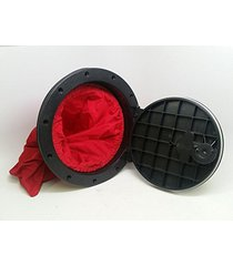 pactrade marine hatch cover deck plate with storage bag for marine boat kayak, b