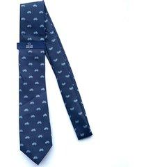 corbata azul oscar de la renta 02-kr3132a-5