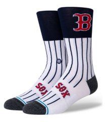 stance boston red sox color block crew socks