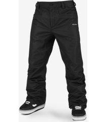 volcom men's carbon zip tech snow pants