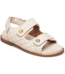 sandals 2757 shoes summer shoes flat sandals creme billi bi
