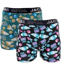 j&c heren boxer 2 pak 30063-xxl