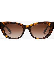 mk occhiali da sole paloma ii - tartaruga (marrone) - michael kors