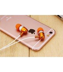 audífonos bluetooth deportivos inalámbricos, nuevo auricular bajo estéreo st-007 auriculares manos libres auriculares 3.5mm (oro)
