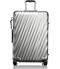 tumi 19 degree 26-inch short trip wheeled packing case - metallic