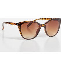 maurices womens tortoise cat eye sunglasses brown