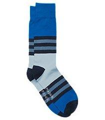 travel tech stripe socks, 1-pair