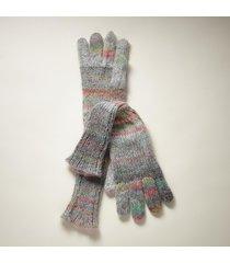 knit the sky long gloves